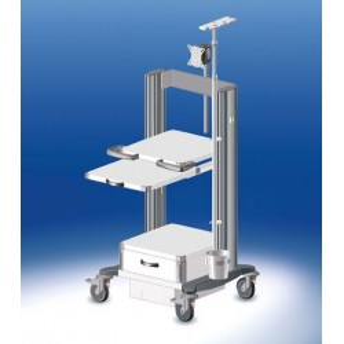 HAEBERLE toro Endoskopiewagen 4 Platten-Breite 60 cm
