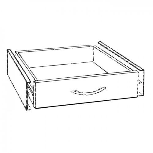 Schublade für Variocar 60 weiss