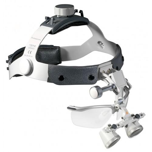 HEINE HR 2,5x 340 mm Lupen Set auf Professional L Kopfband