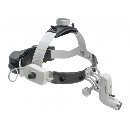 HEINE ML4 LED Kopfleuchte mit EN50 und mPack UNPLUGGED