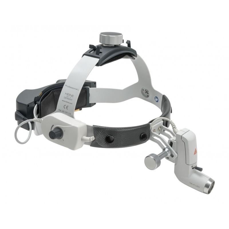 HEINE ML4 LED HeadLight mit EN50 und mPack UNPLUGGED