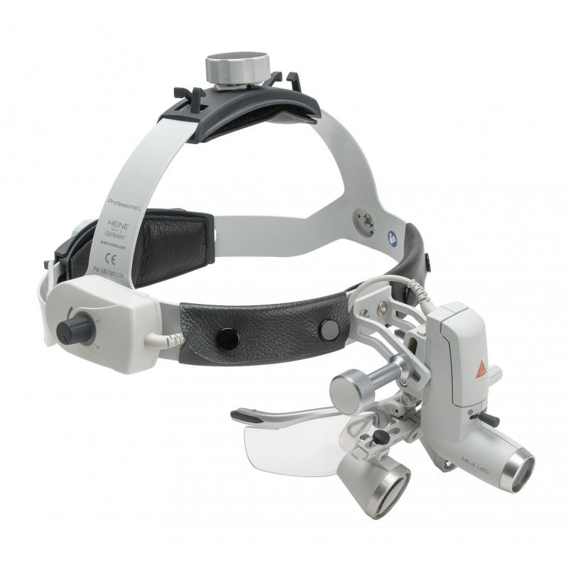 HEINE ML4 LED HeadLight Kit 1 mit HR Binokularlupen 2.5x /340mm