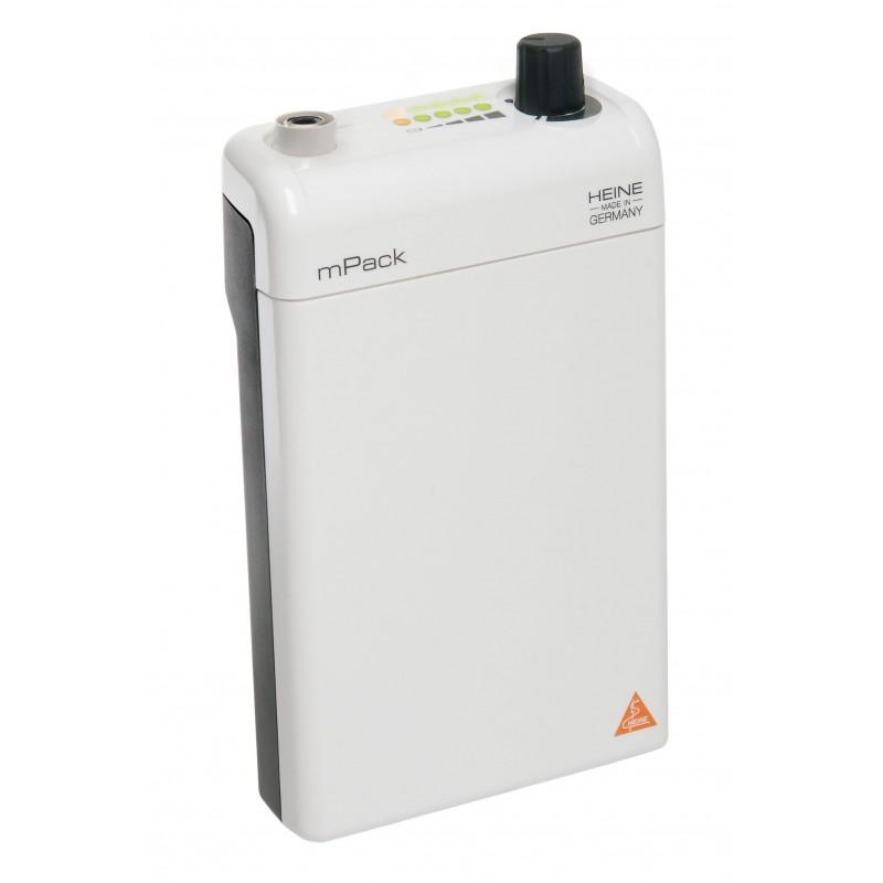 HEINE mPack mit Li-ion Ladebatterie und Steckertrafo 6V