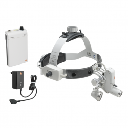 HEINE ML4 LED Kopfleuchte mit Lupen Kit 11c