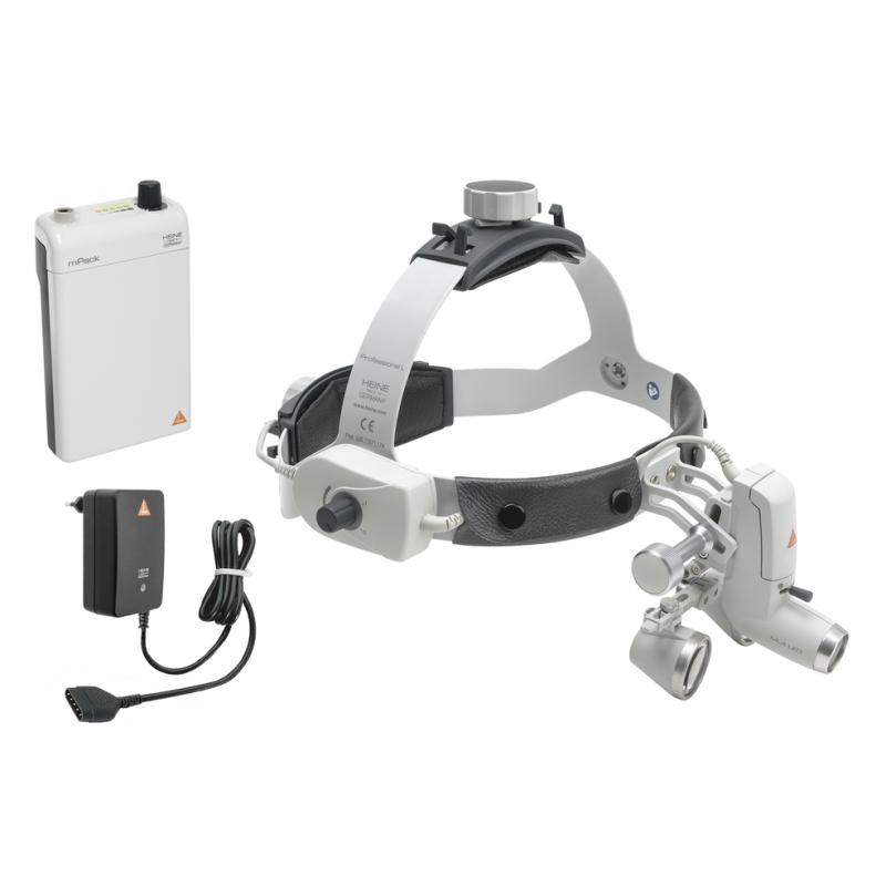 HEINE ML4 LED HeadLight Kit 2c mit HR 2.5x