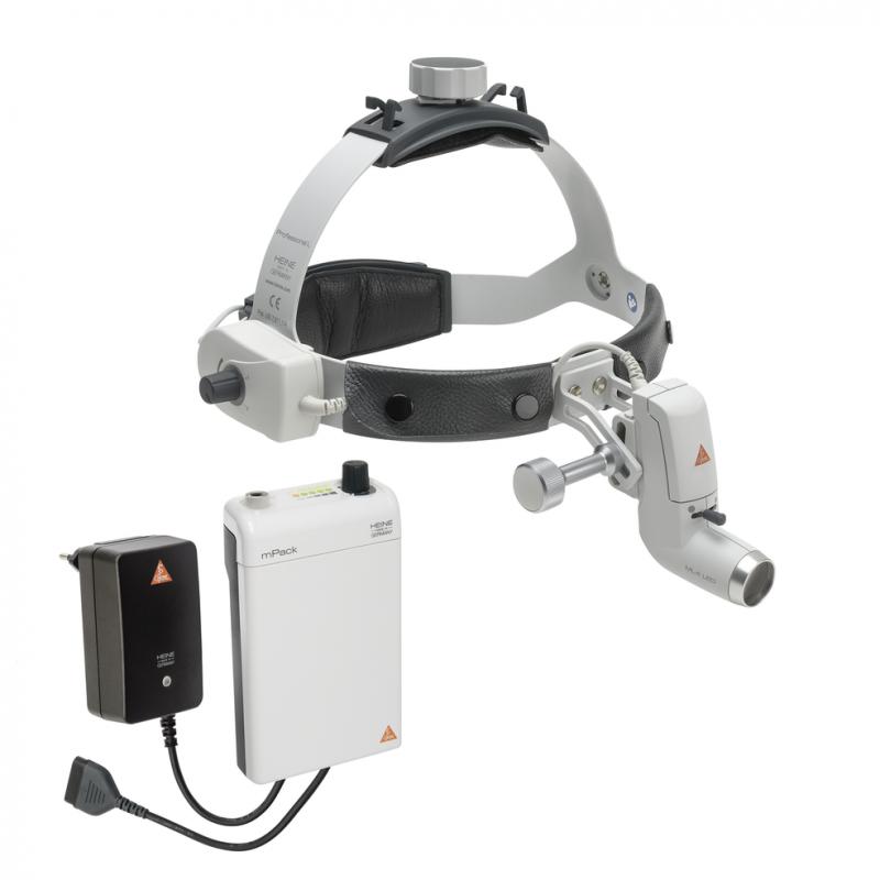 HEINE ML4 LED HeadLight mit mPack und Steckertrafo