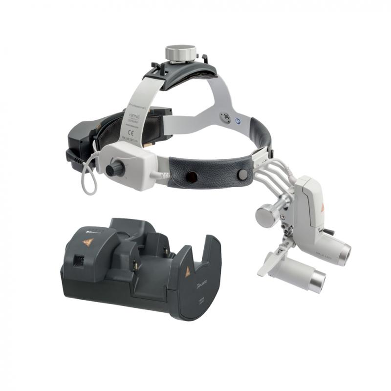 HEINE ML4 LED HeadLight UNPLUGGED Kit 8c mit HRP 3.5x