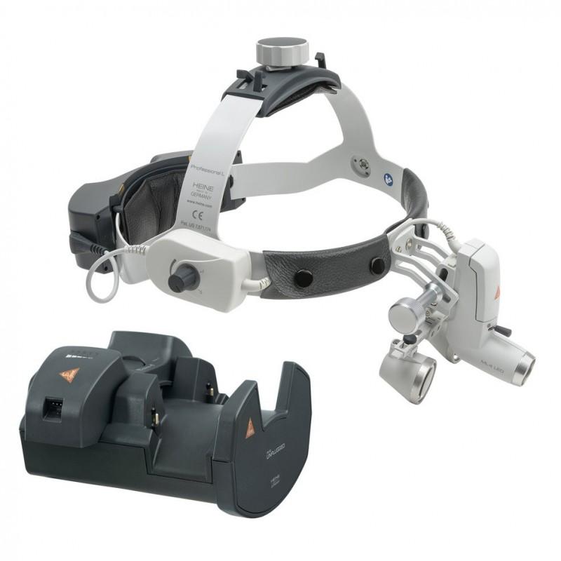 HEINE ML4 LED HeadLight UNPLUGGED Kit 6c mit HR