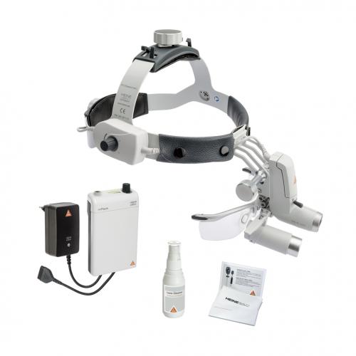 HEINE ML4 LED HeadLight Kit 5 mit HRP 6x