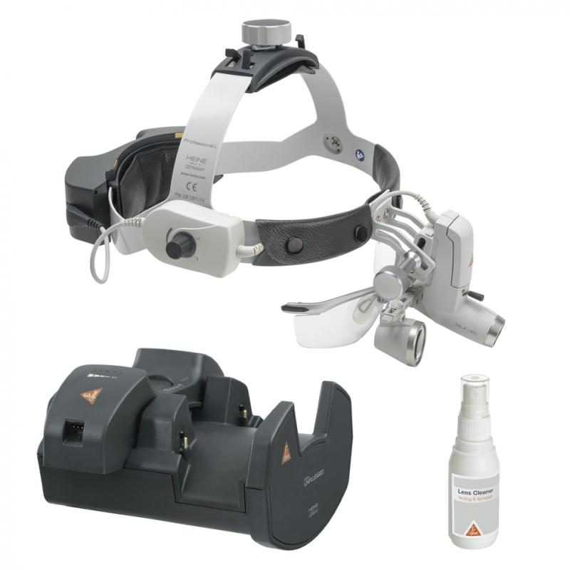 HEINE ML4 LED HeadLight UNPLUGGED Kit 6 mit HR 2.5x