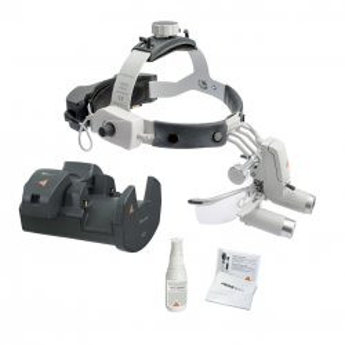 HEINE ML4 LED HeadLight UNPLUGGED Kit 9 mit HRP 4x
