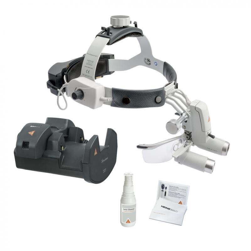 HEINE ML4 LED HeadLight UNPLUGGED Kit 8 mit HRP 3.5x