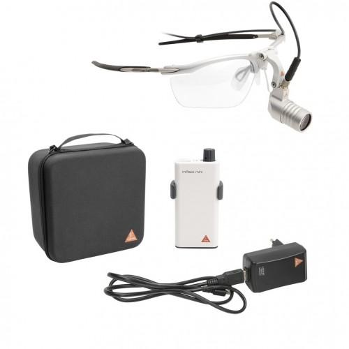 HEINE MicroLight 2 Kopfleuchte auf S-Frame