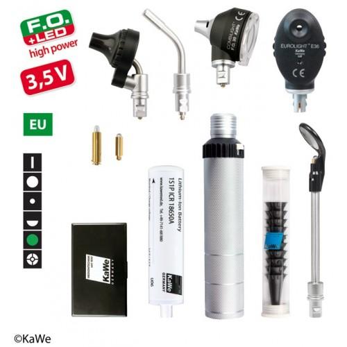 KaWe Diagnostik-Set COMBILIGHT F.O.30 LED /E36 (Grünfilter) 3,5V