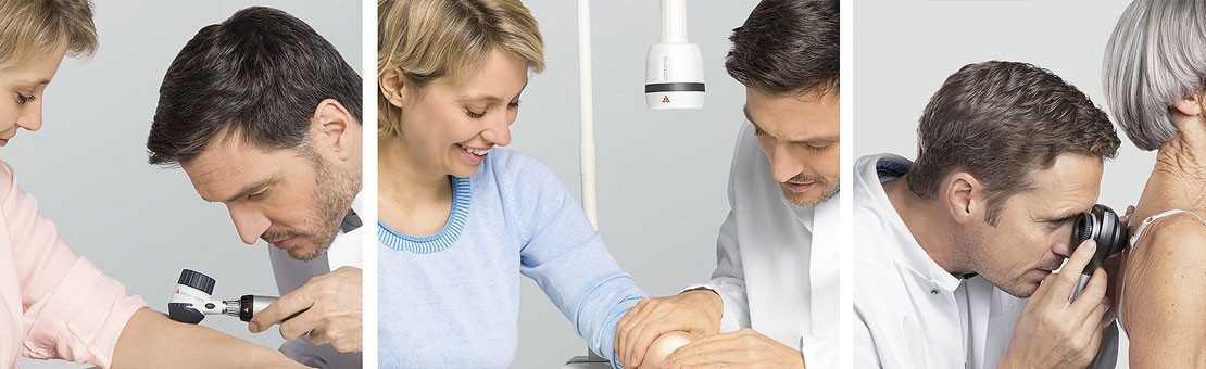 Dermatalogische Untersuchung